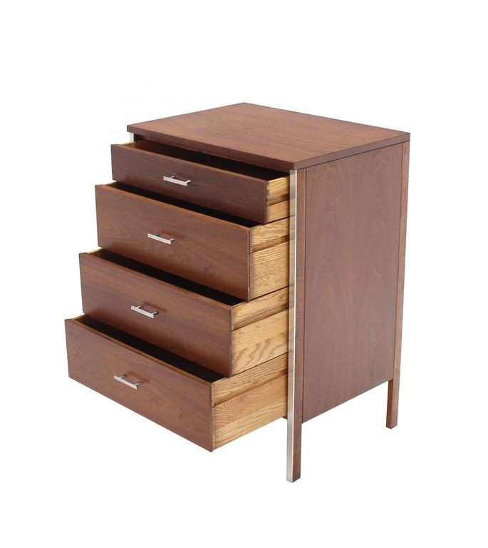 Four Drawers Small Petit Narrow  Bachelor Chest 7
