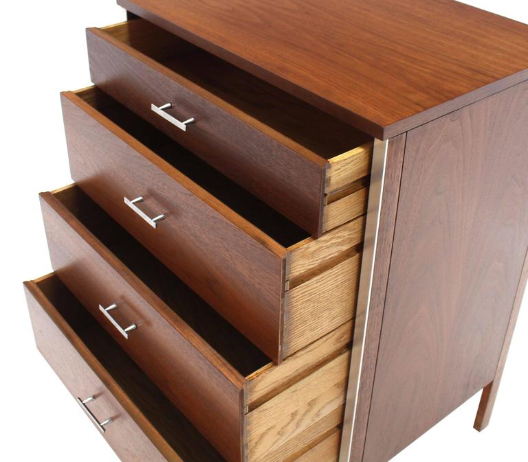 Four Drawers Small Petit Narrow  Bachelor Chest 8