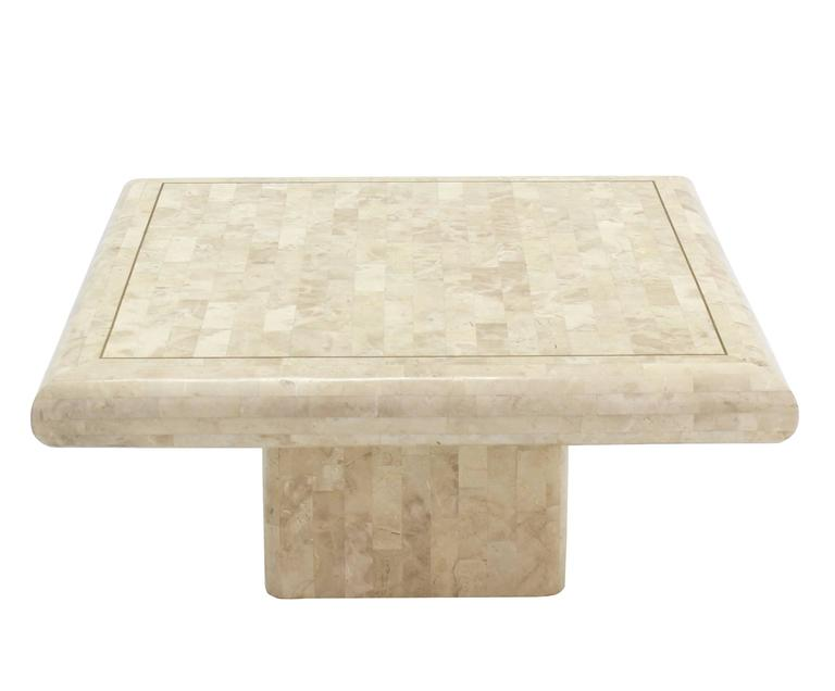tessellated stone tile coffee table for sale at 1stdibs