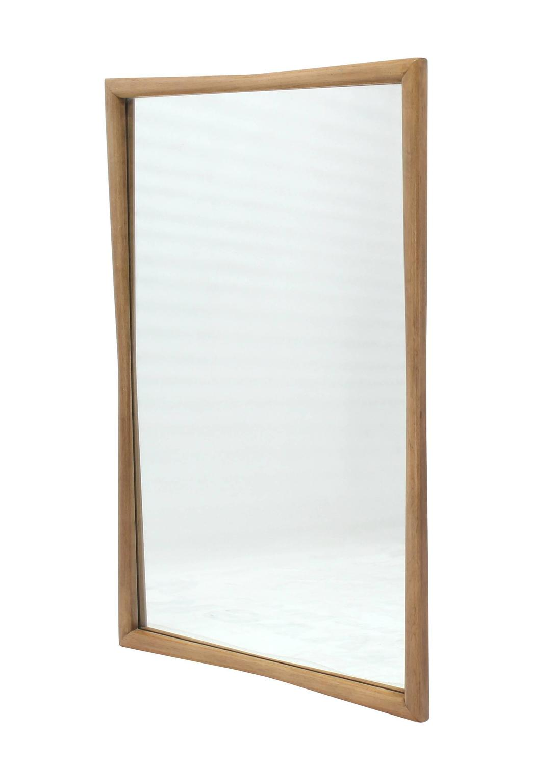 Large rectangular mid century modern mirror at 1stdibs for Large contemporary mirrors