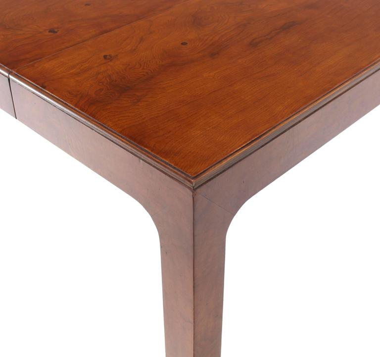 items similar to henredon square dining table with one extension board