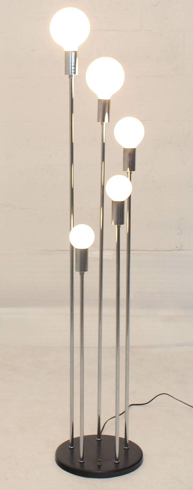 FLOOR LAMP Light 3 Way Chrome Lighting