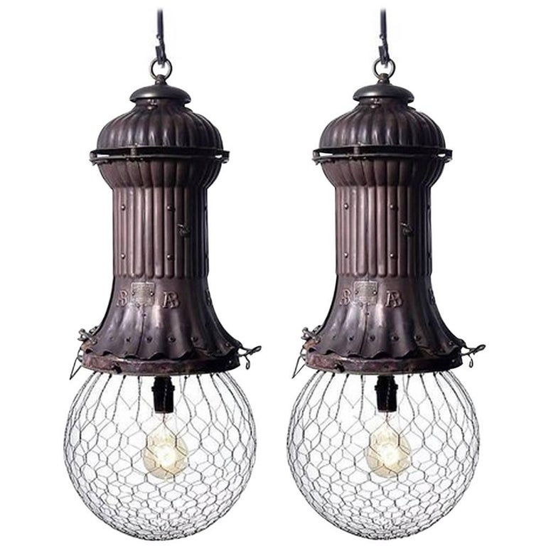 1800s Adams-Bagnall Street Lamps, Pair For Sale