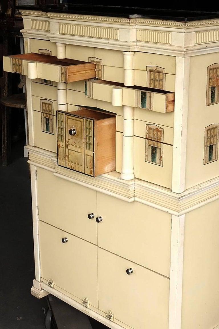 Industrial Pediatric Dollhouse Dental Cabinet For Sale