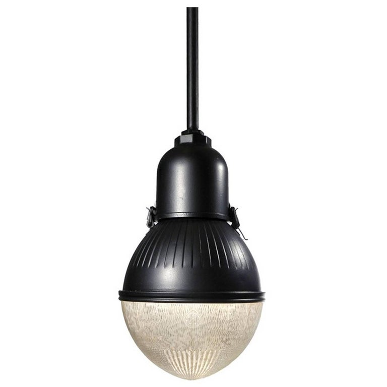 Beautiful Matching Pair of Large Egg Shaped Street Lamps
