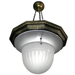 Smaller Brascolite Chandelier