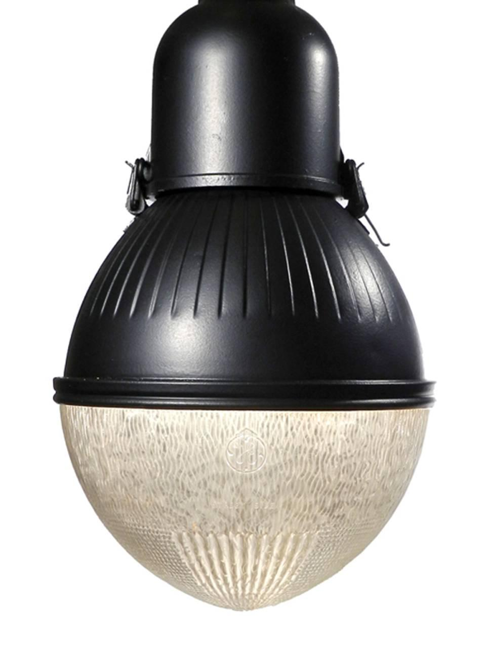 matching pair of large egg shaped street lamps for sale at 1stdibs. Black Bedroom Furniture Sets. Home Design Ideas