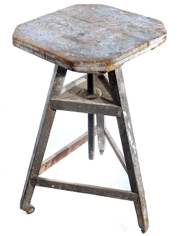 Rotating Sculpture Work Table For Sale At Stdibs - Rotating work table