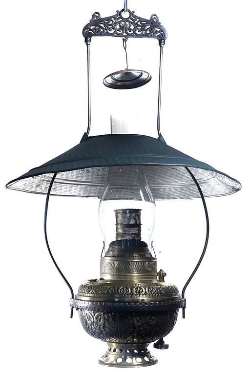 Classic 1800s Saloon Lamp At 1stdibs