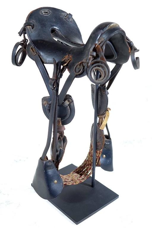 1800s McClellan Cavalry Saddle, Salesman's Sample In Excellent Condition For Sale In Peekskill, NY