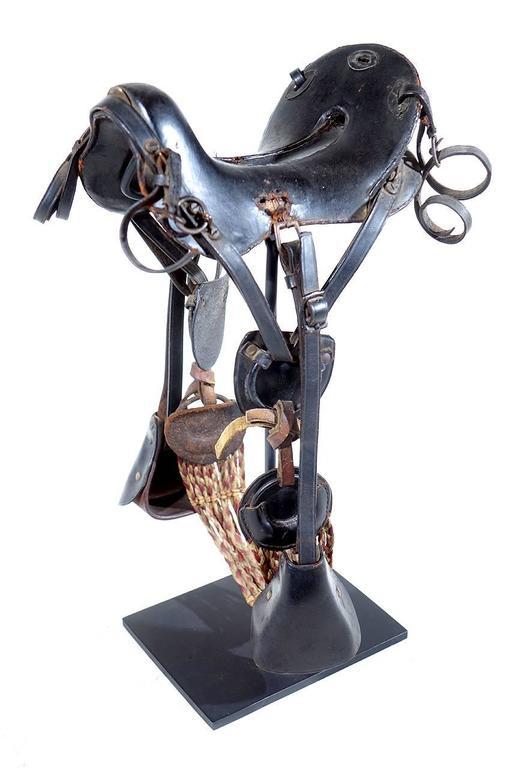 1800s McClellan Cavalry Saddle, Salesman's Sample For Sale 1