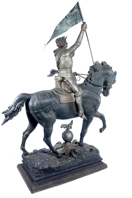 1800s French Joan of Arc Sculpture 5