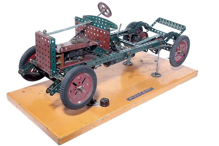 Industrial Factory Built Meccano Store Display For Sale