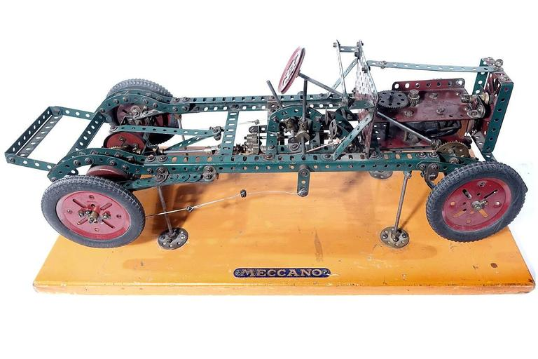 British Factory Built Meccano Store Display For Sale