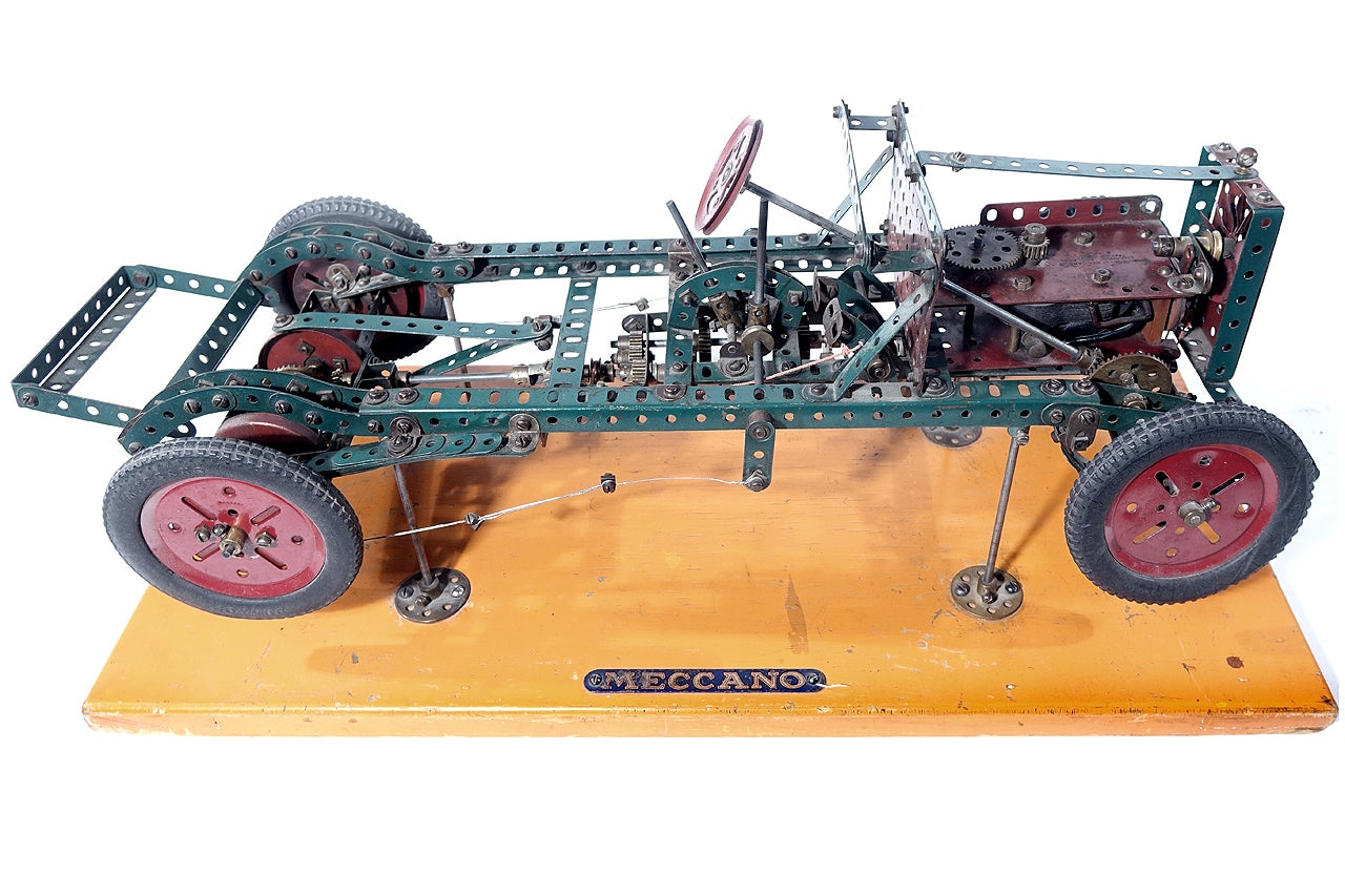 Factory Built Meccano Store Display At 1stdibs Control Your Models Or Anything Else From Windows Pc