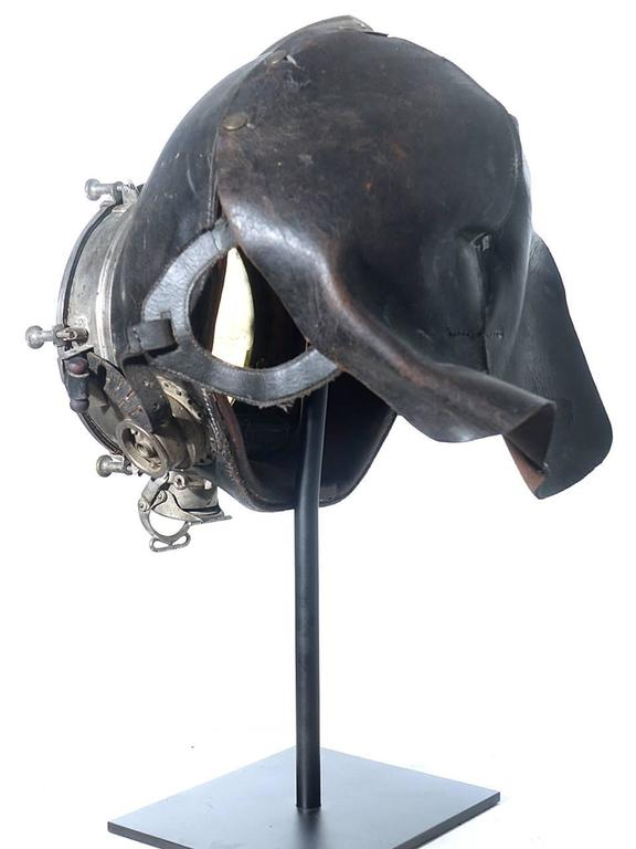Very Rare and Important 1910 Drager Smoke Mask 4