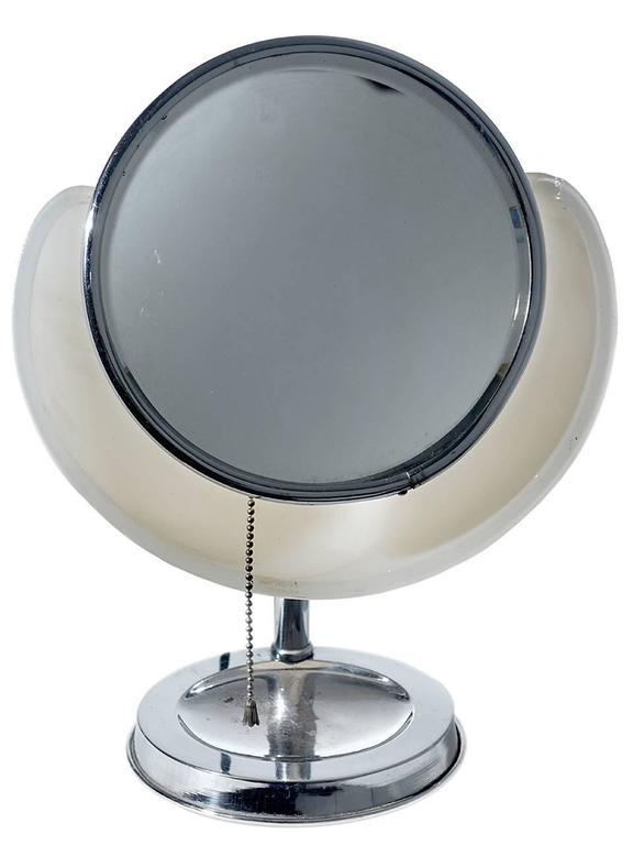 1920s Art Deco Make-Up Mirror 2