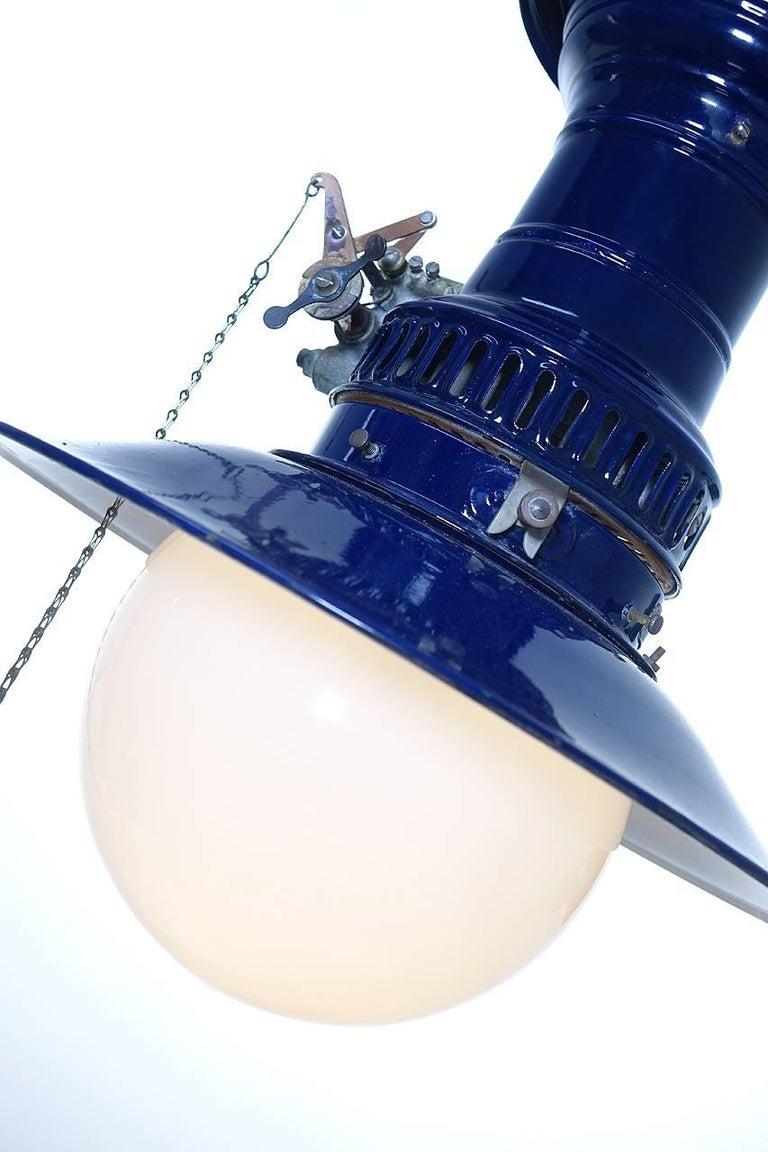 Original Cobalt Blue Humphrey Lantern 3