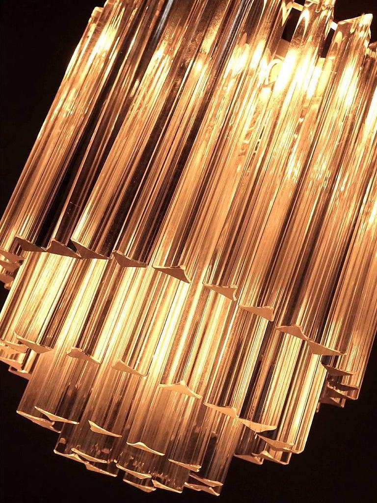 Italian Murano Glass Chandelier by Paolo Venini 2