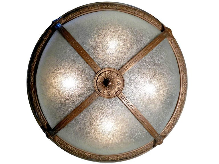 20th Century Collection of Theater Lobby Dome Lights For Sale