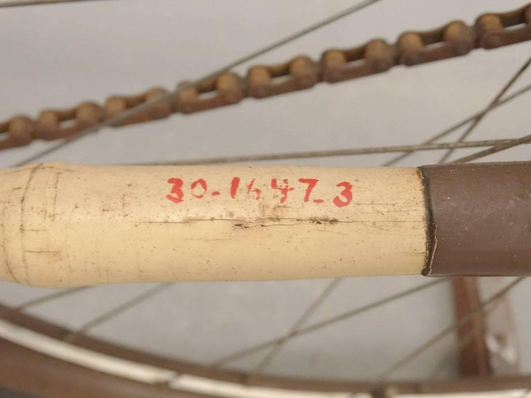 1897 Bamboo Pneumatic Safety Bicycle from The Henry Ford Museum For Sale 3