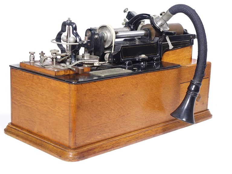 The Edison Class M is an important part of history. Fot collectors its one of the most important and sought after Phonographs to be found. This is Edison's first successful cylinder machine and is powered by a DC motor. These were produced before he