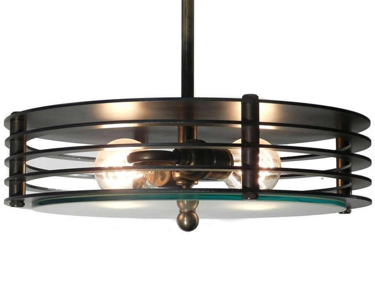 American Round Industrial Vented Flush Mount For Sale