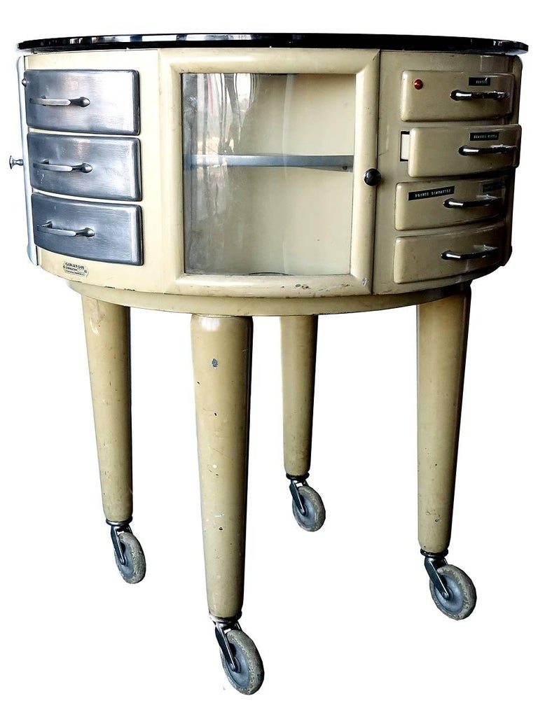 Industrial French Rotating Dental Table For Sale