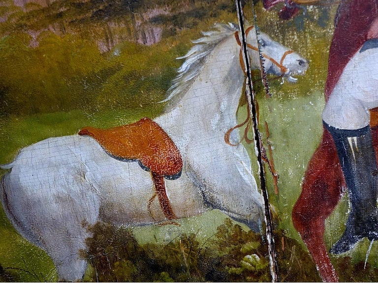 This highly hand-painted center panel dates to the early years of what is considered the Golden Age of Carousels. The mid-late 1800s was a time when art and the industrial revolution coalesced, as immigrant artisans and industrialists created these