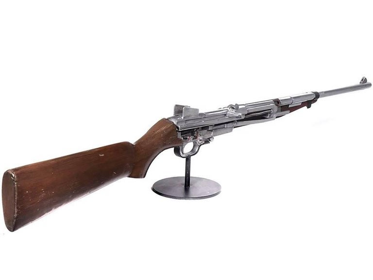 Rare M1 Carbine Cutaway Training Model In Excellent Condition For Sale In Peekskill, NY
