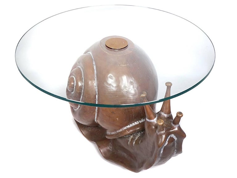 American Classic Federico Armijo Snail Table For Sale