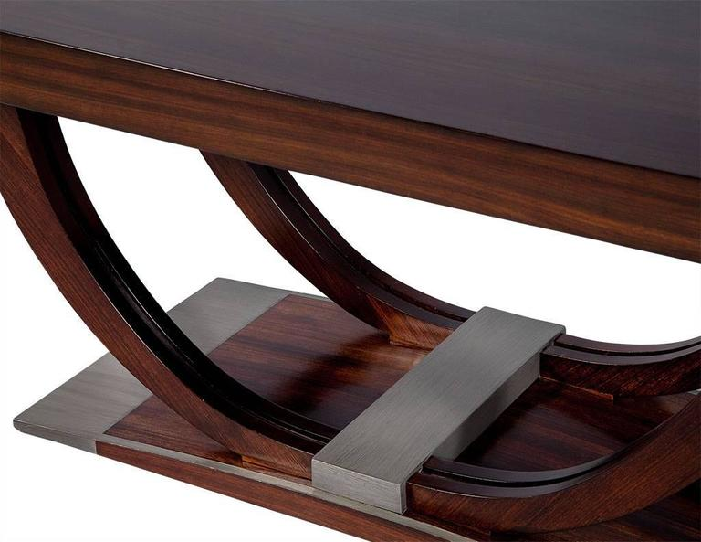 french art deco rosewood dining table circa 1940 7 art deco rosewood dining