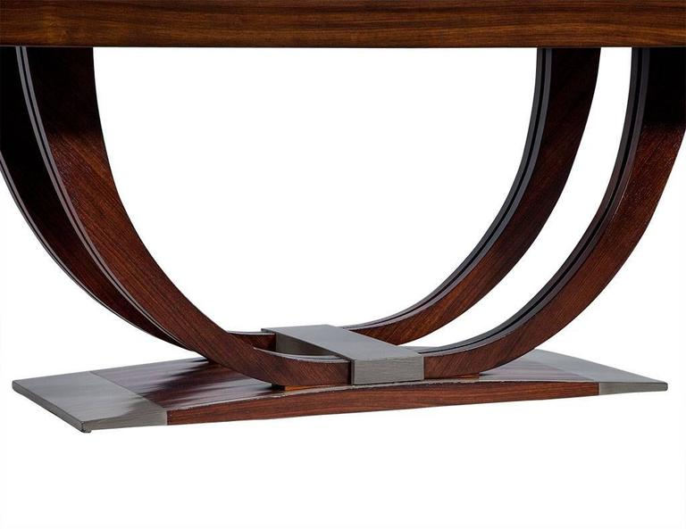 french art deco rosewood dining table circa 1940 8 art deco rosewood dining