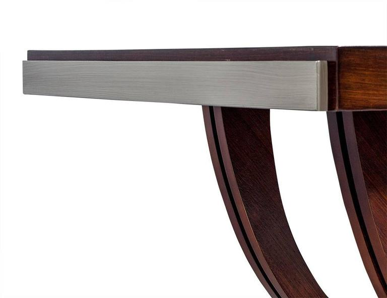 french art deco rosewood dining table circa 1940 5 art deco rosewood dining