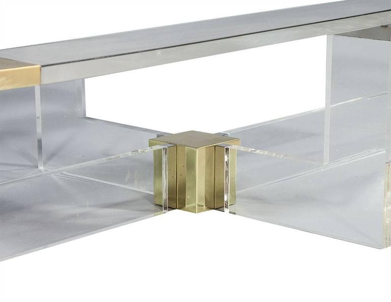 Contemporary Randall Tysinger Cholet Cocktail Table For Sale