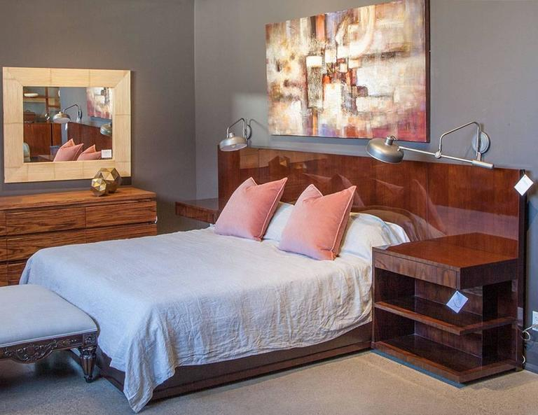 Stunning Bed With Clean Linear Design That Makes For A Timeless Style The Is