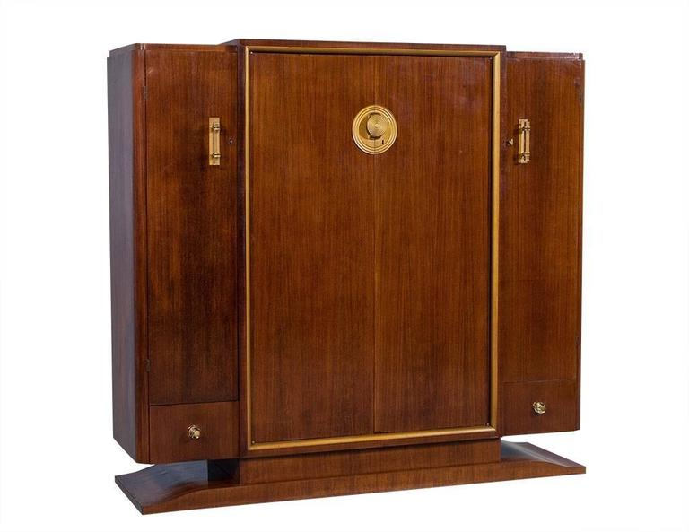 French Art Deco Rosewood Armoire 3