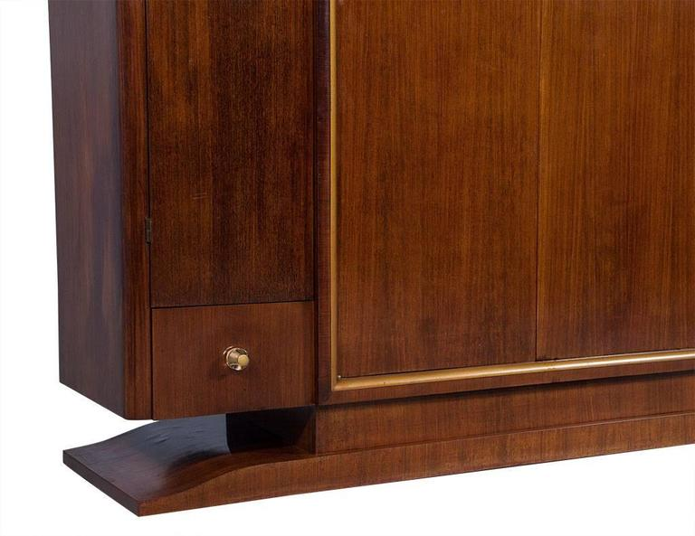 French Art Deco Rosewood Armoire 10