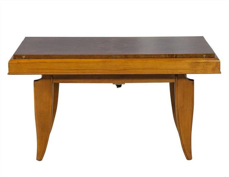 Unique Art Deco Adjustable Cocktail To Dining Table For Sale At 1stdibs