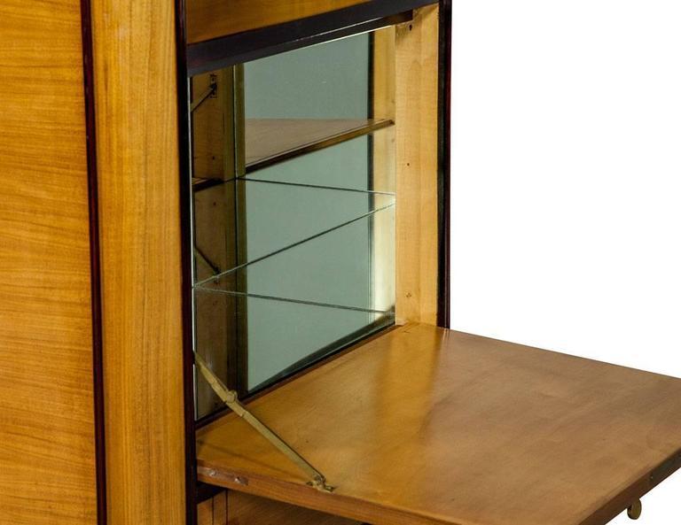 french art deco secretaire highboy at 1stdibs. Black Bedroom Furniture Sets. Home Design Ideas