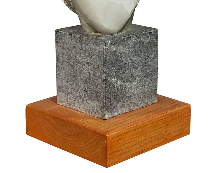 Hand-Carved Stylized Stone Sculpture by Daniel Pokorn For Sale 2