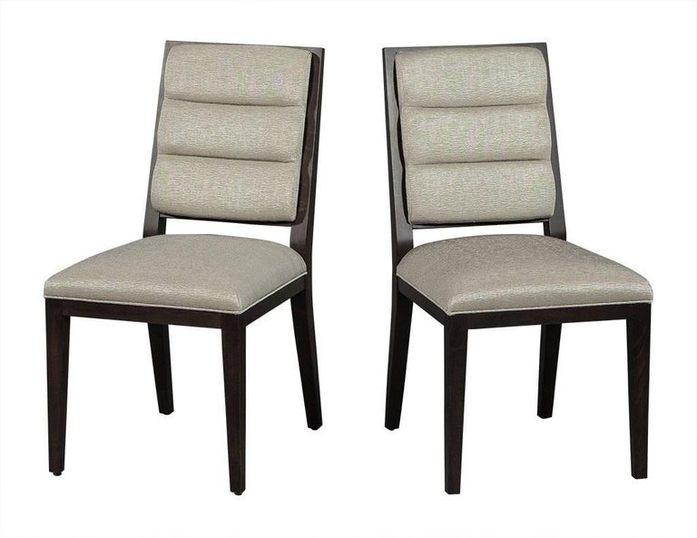 Set of 12 carrocel roll back deco side chairs in taupe for sale at 1stdibs - Deco toiletten taupe ...