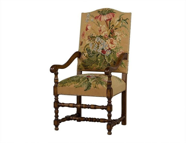 Set of 12 tudor style french dining chairs for sale at 1stdibs for Tudor furnishings