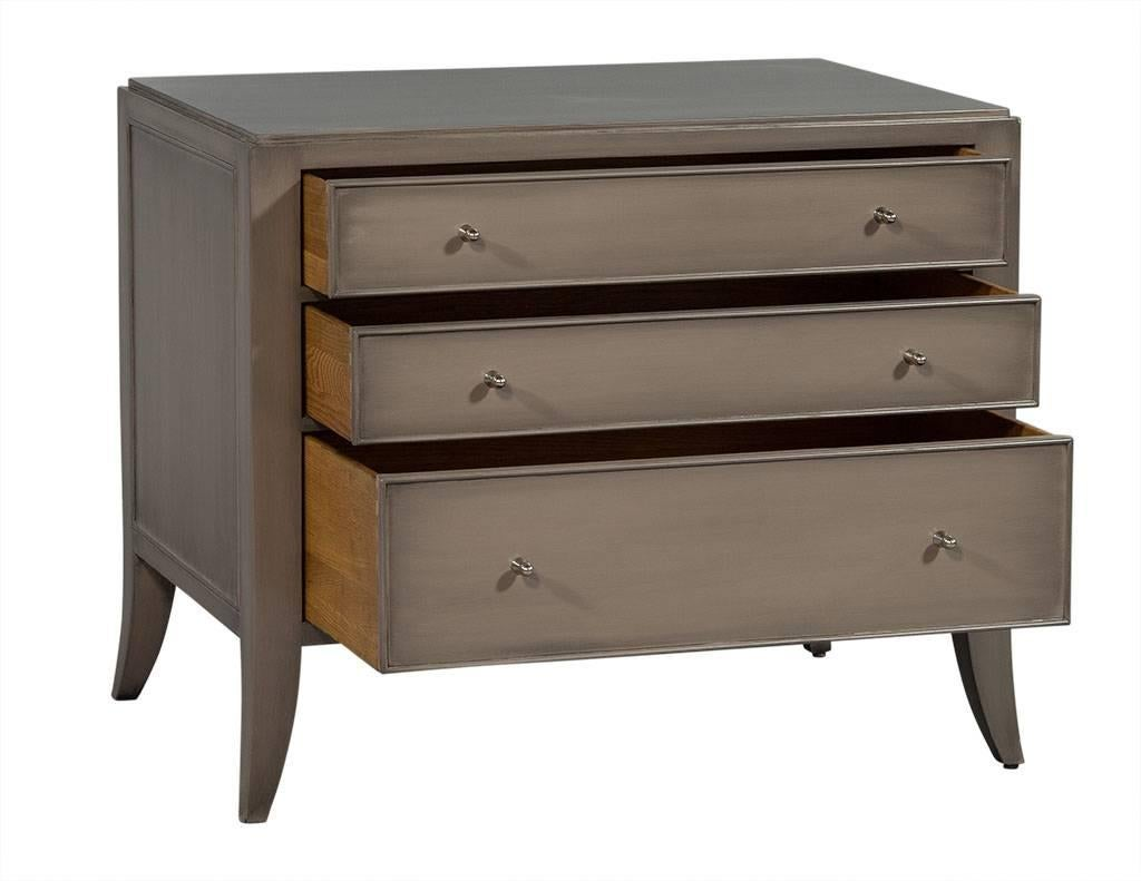 Pair Of Baker Barbara Barry Chests Night Tables In Excellent Condition For  Sale In North York