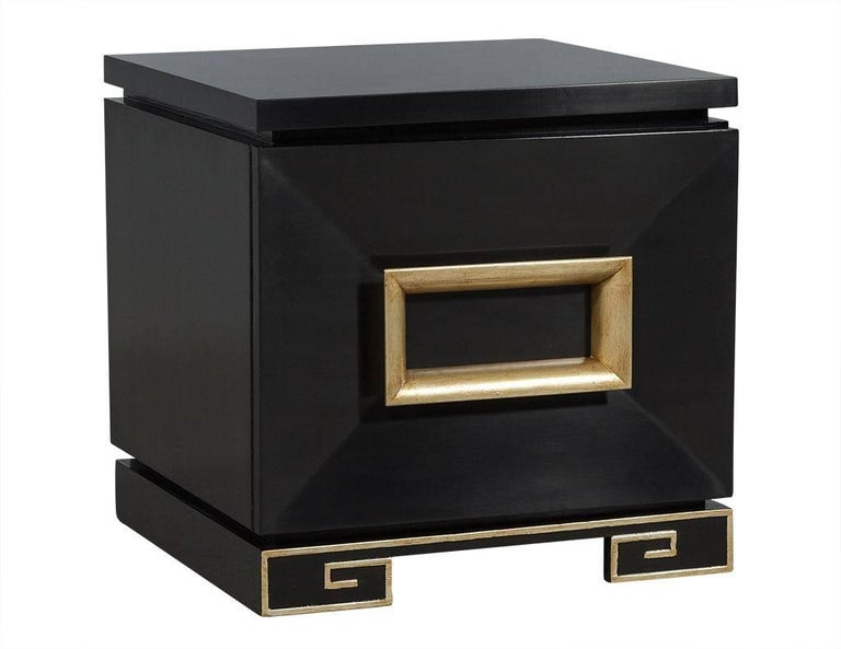 Modern Pair of Vintage James Mont Chests For Sale