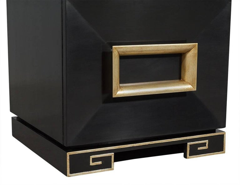 Mid-20th Century Pair of Vintage James Mont Chests For Sale