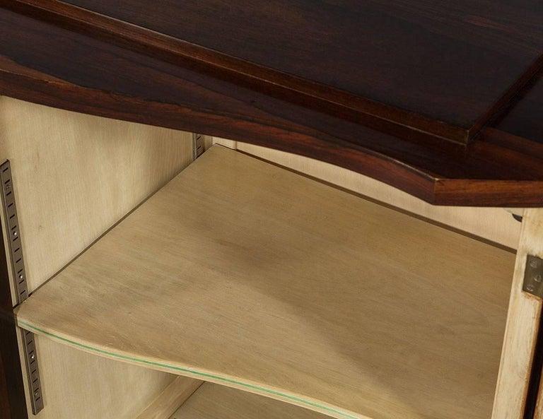 Vintage Art Deco Macassar Sideboard Buffet 2