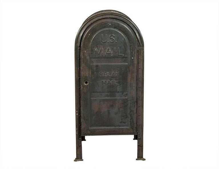 American Original US Postal Relay Mail Box For Sale