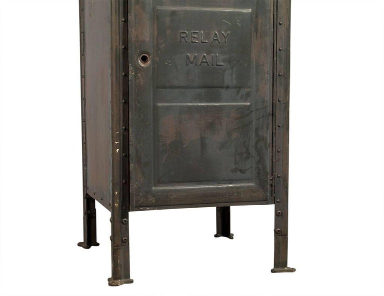 Original US Postal Relay Mail Box In Good Condition For Sale In North York, ON