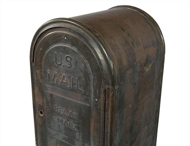 Metal Original US Postal Relay Mail Box For Sale